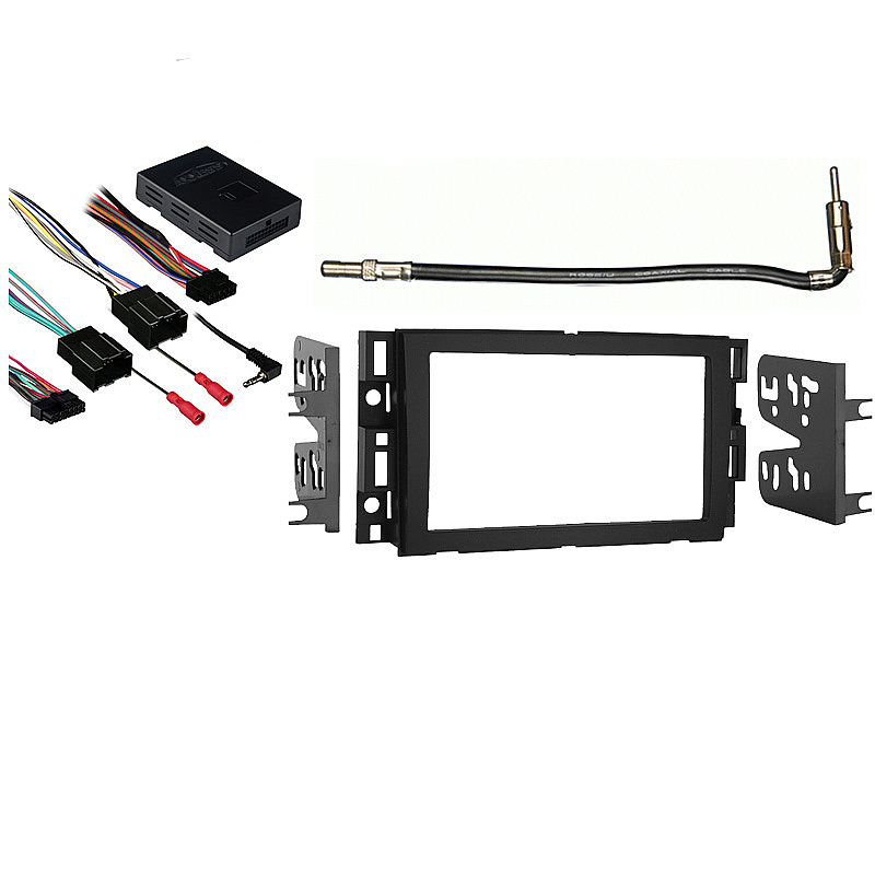 Chevy Suburban 2007-2013 Double DIN Stereo Harness Radio Install Dash Kit