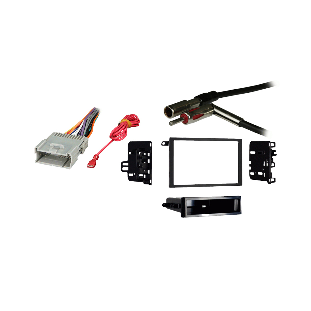Chevy Tracker 1998 1999 2000 2001 2002 2003 2004 Double DIN Stereo Harness Radio Install Dash Kit Package