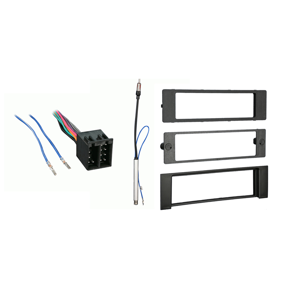 Audi A8 1997-1999 Single DIN Aftermarket Stereo Harness Radio Install Dash Kit