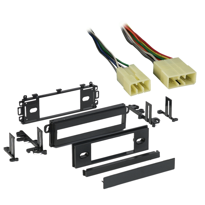 Dodge Colt 1987 1988 1989 1990 1991 1992 Single DIN Stereo Harness Radio Install Dash Kit Package