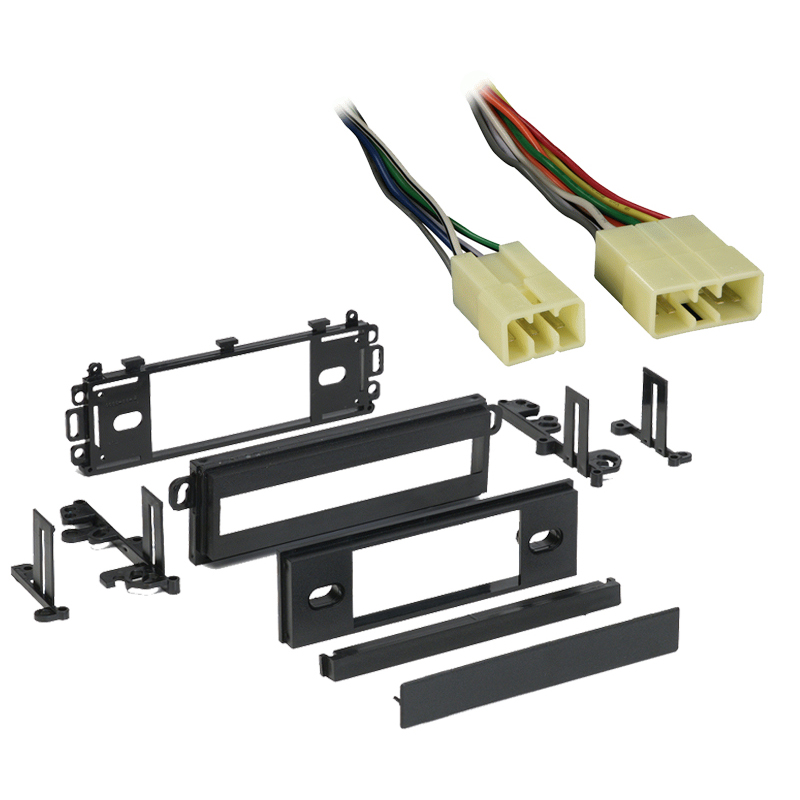 Dodge D 50 Pickup 1987 1988 1989 1990 1991 1992 1993 Single DIN Stereo Harness Radio Install Dash Kit Package