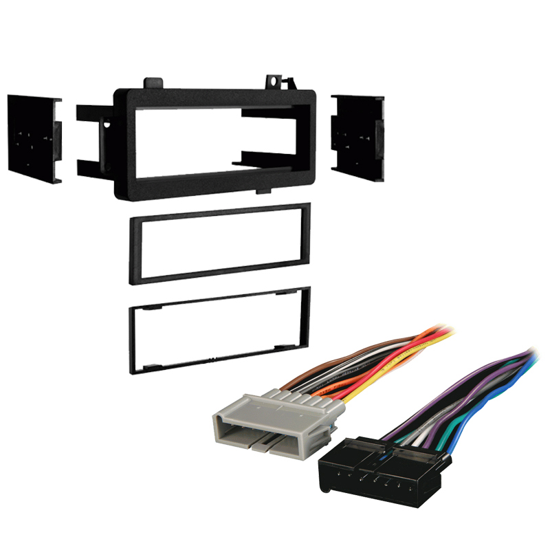 Dodge Diplomat 1984-1989 Single DIN Stereo Harness Radio Install Dash Kit