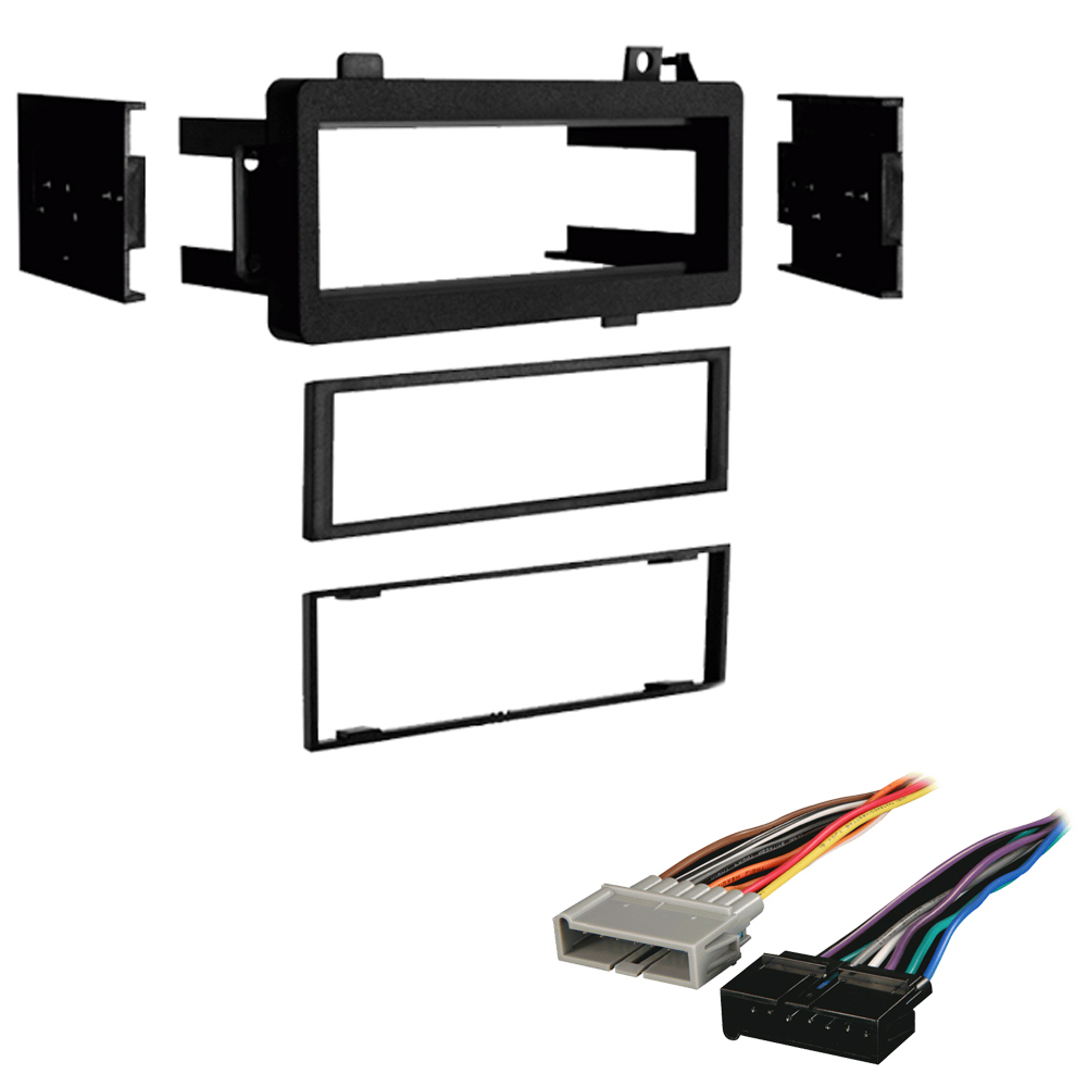 Dodge Dynasty 1988 1989 1990 1991 1992 1993  Single DIN Stereo Harness Radio Install Dash Kit Package