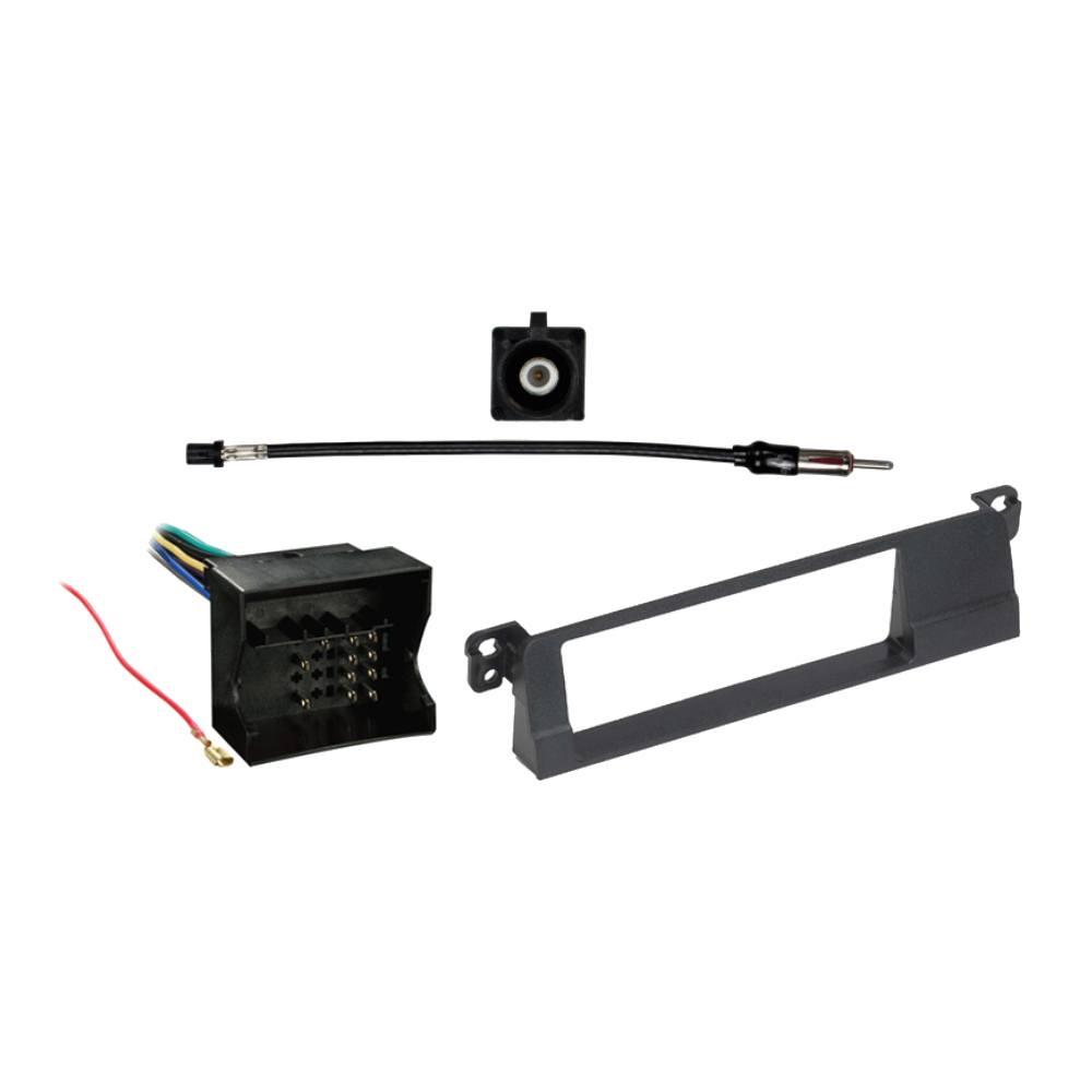 BMW 3 Series 2002-2005 Single DIN Stereo Harness Radio Install Dash Kit Package