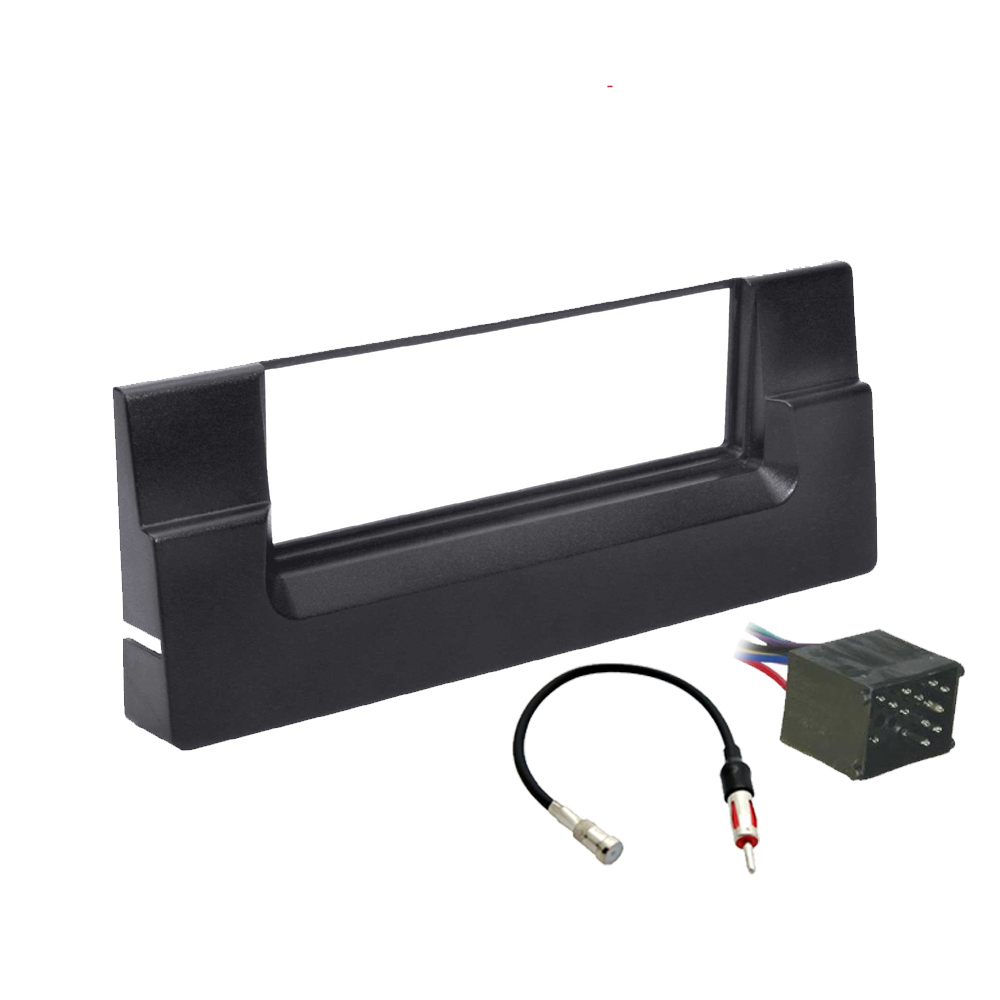 BMW 5 Series 1997-2001 Single DIN Stereo Harness Radio Install Dash Kit Package