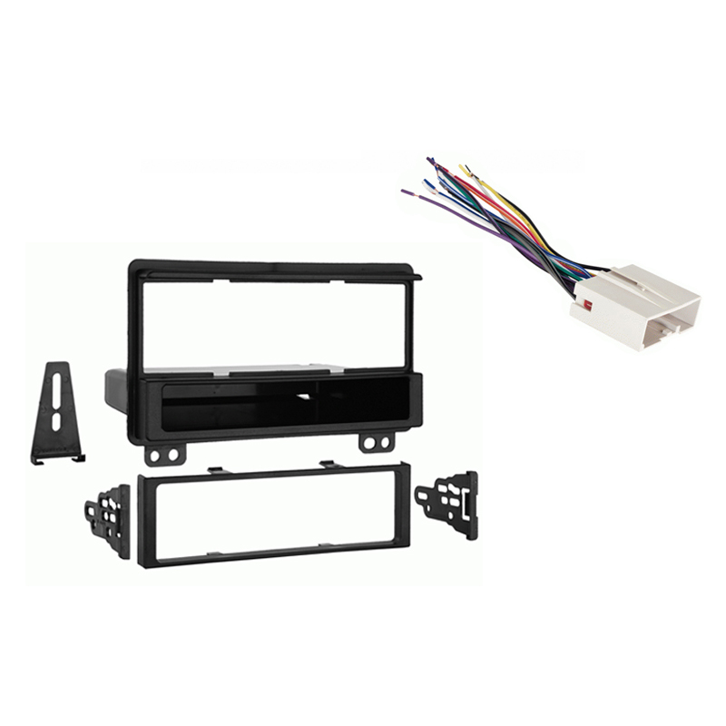 Ford Expedition 2003 Single DIN Stereo Harness Radio Dash Kit   Late Production