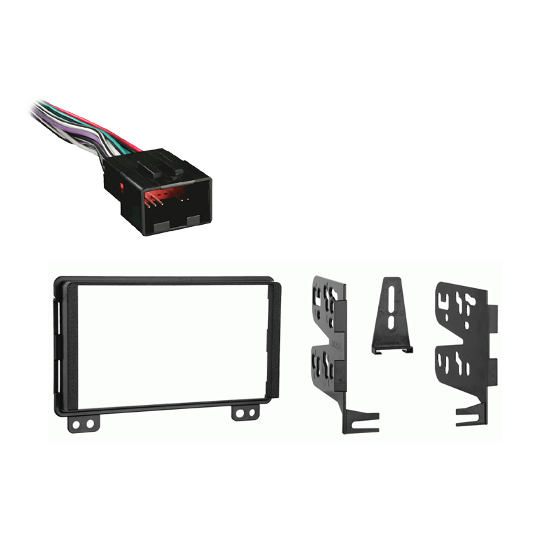 Ford Explorer 2004 2005 Double DIN Stereo Harness Radio Install Dash Kit Package