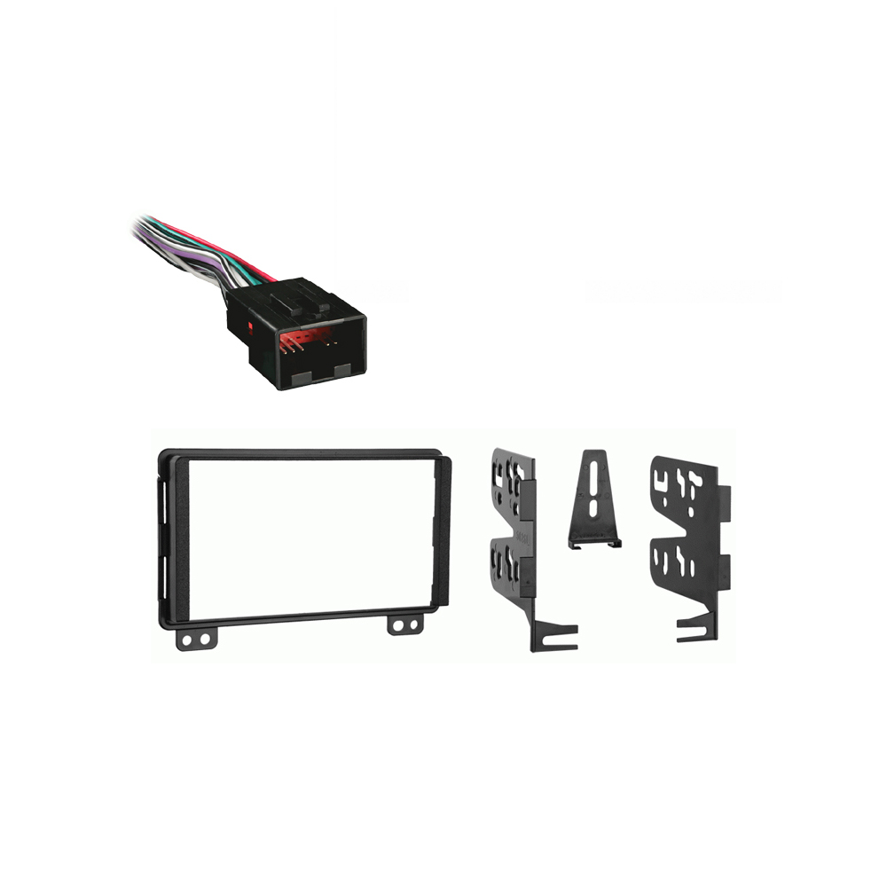 Ford Explorer 2002 2003 Double DIN Stereo Harness Radio Install Dash Kit Package