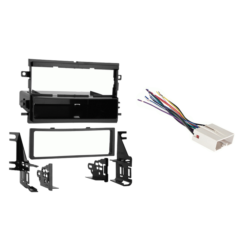 ford f 150 2004 2006 single din stereo harness radio. Black Bedroom Furniture Sets. Home Design Ideas