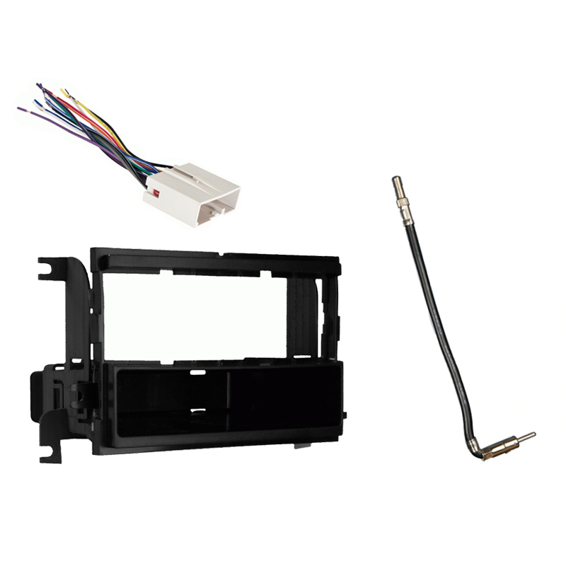 Ford F 150 XL without Options 2009 2010 2011 2012 2013 2014 Single DIN Stereo Harness Radio Dash Kit