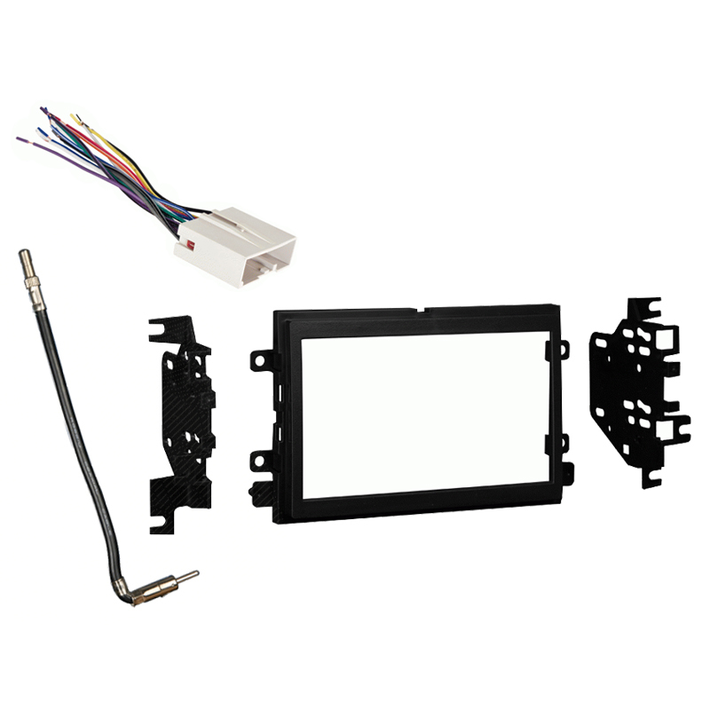 Ford F 150 XL without Options 2009 2010 2011 2012 2013 2014 Double DIN Stereo Harness Radio Dash Kit