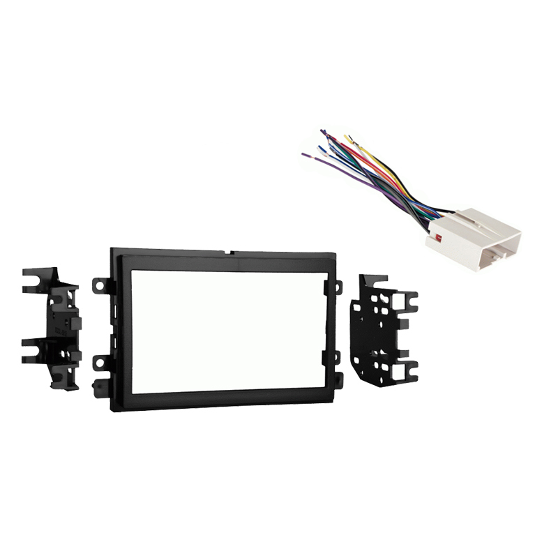 Fits Ford Fusion 2006-2009 Double DIN Stereo Harness Radio Install Dash Kit