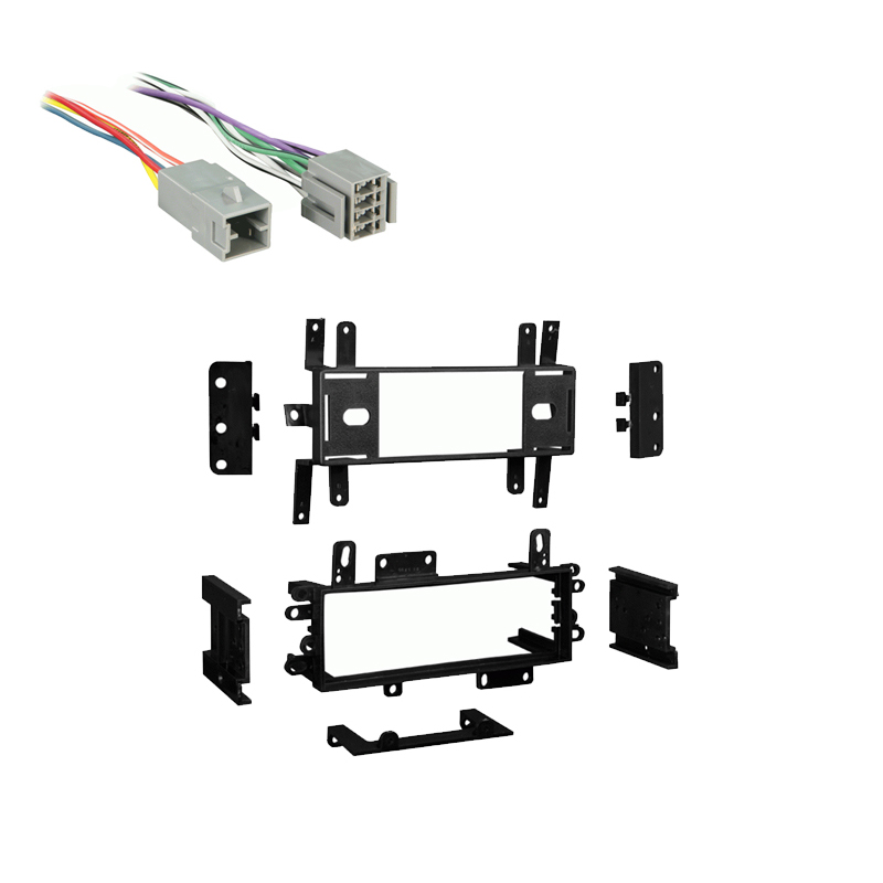 Ford Ranger 1983 1984 1985 Single DIN Stereo Harness Radio Install Dash Kit Package