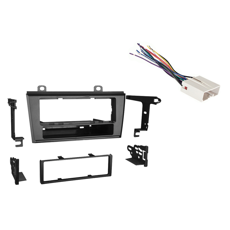 Ford Thunderbird 2004 2005 Single DIN Stereo Harness Radio Install Dash Kit Package