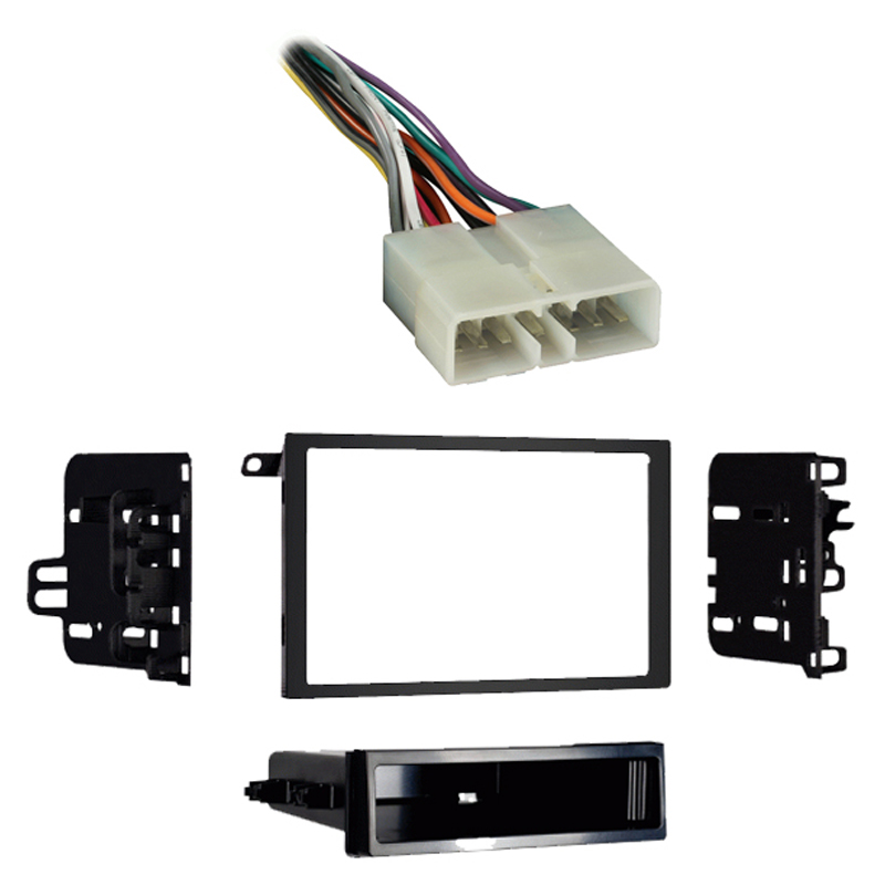 Geo Metro 1992 1993 1994 1995 1996 1997 Double DIN Aftermarket Stereo Harness Radio Install Dash Kit