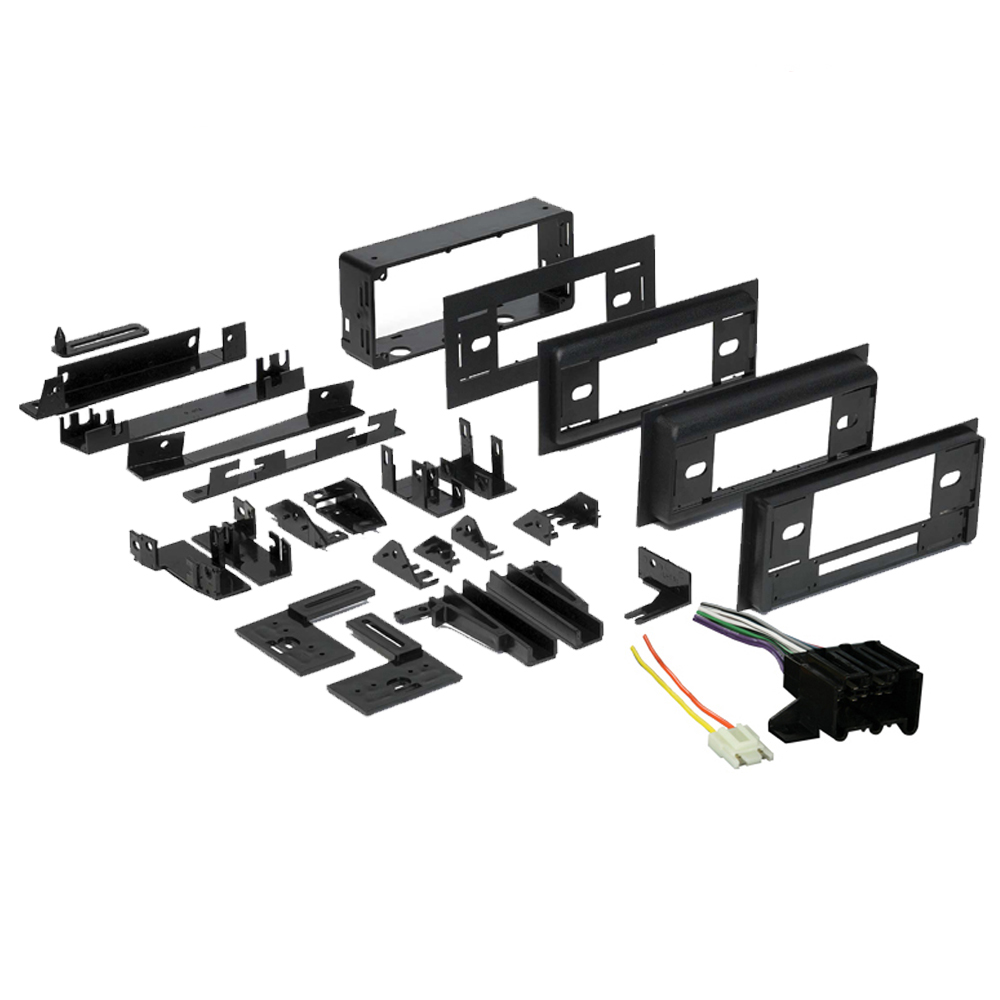 GMC Full Size Van 1988 1989 1990 1991 1992 1993 1994 1995 Single DIN Stereo Harness Radio Install Dash Kit