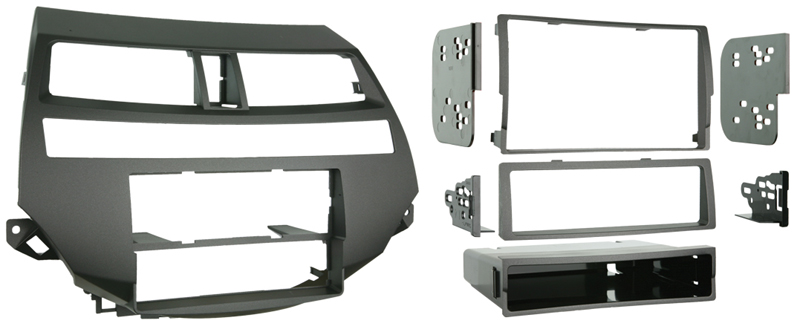 Metra 99-7875 Single//Double DIN Installation Kit for 2008-2009 Honda Accord Vehicles with Dual-Zone Climate Controls
