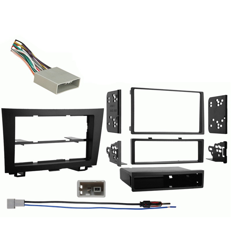 Honda CRV 2007 2008 2009 2010 2011 Multi DIN Aftermarket Stereo Harness Radio Install Dash Kit