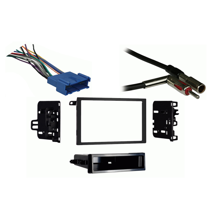 Buick Le Sabre 1995-1999 Double DIN Stereo Harness Radio Install Dash Kit