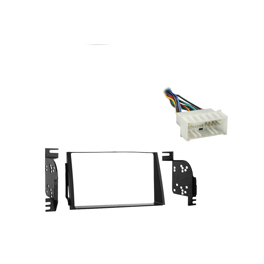 Hyundai Azera 2009 2010 2011 Double DIN Stereo Harness Radio Install Dash Kit Package