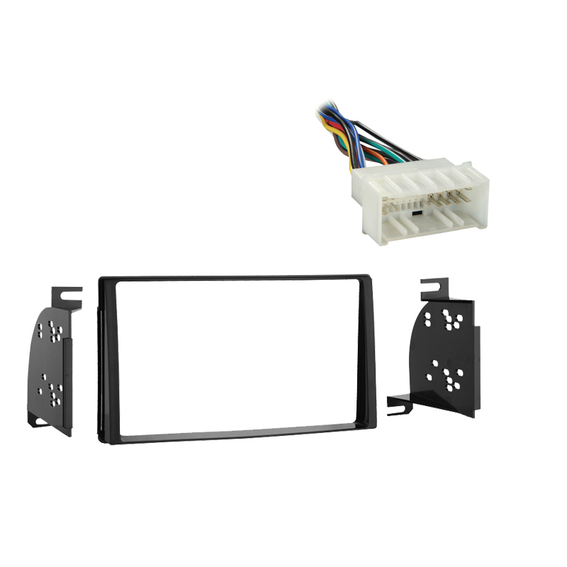 Hyundai Entourage 2007 2008 Double DIN Stereo Harness Radio Install Dash Kit Package