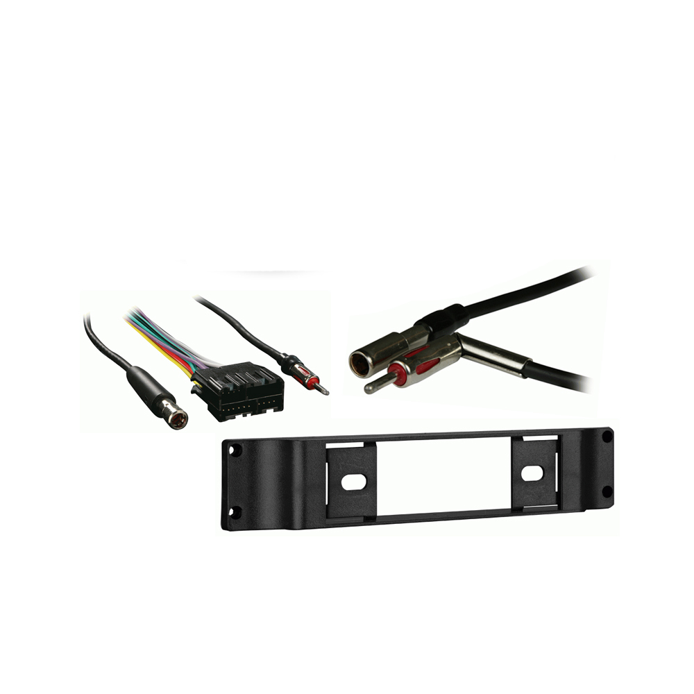 Buick Regal 1988 1989 1990 1991 1992 1993 1994 Single DIN Stereo Harness Radio Install Dash Kit Package