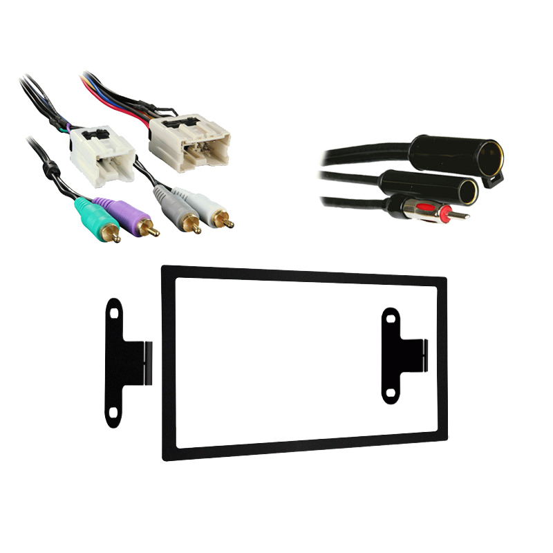 Infiniti I30 1996 1997 1998 1999Double DIN Stereo Harness Radio Install Dash Kit Package