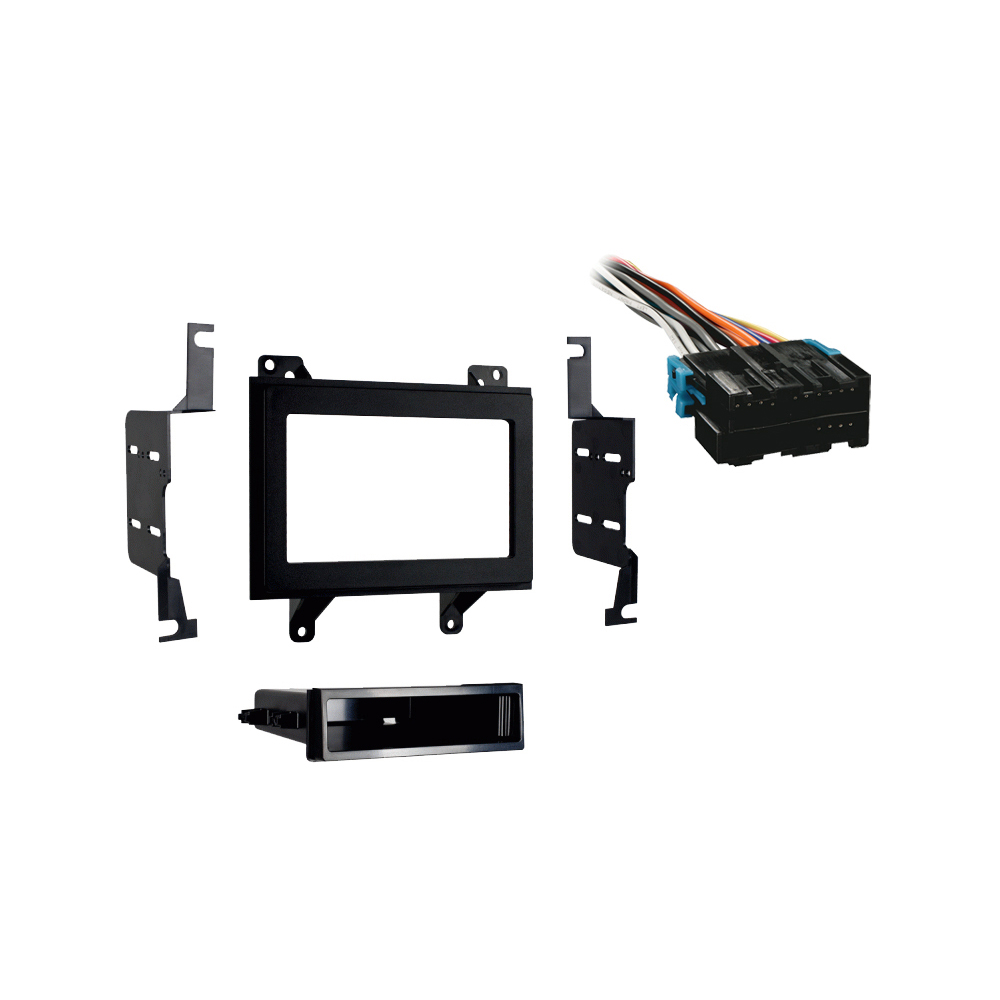 Isuzu Hombre 1996-1997 Double DIN Stereo Harness Radio Install Dash Kit Package