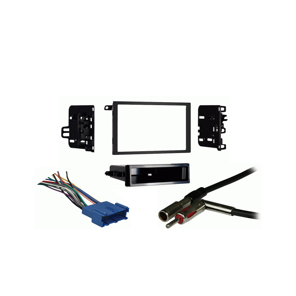 Buick Roadmaster 1995-1996 Double DIN Car Stereo Harness Radio Install Dash Kit