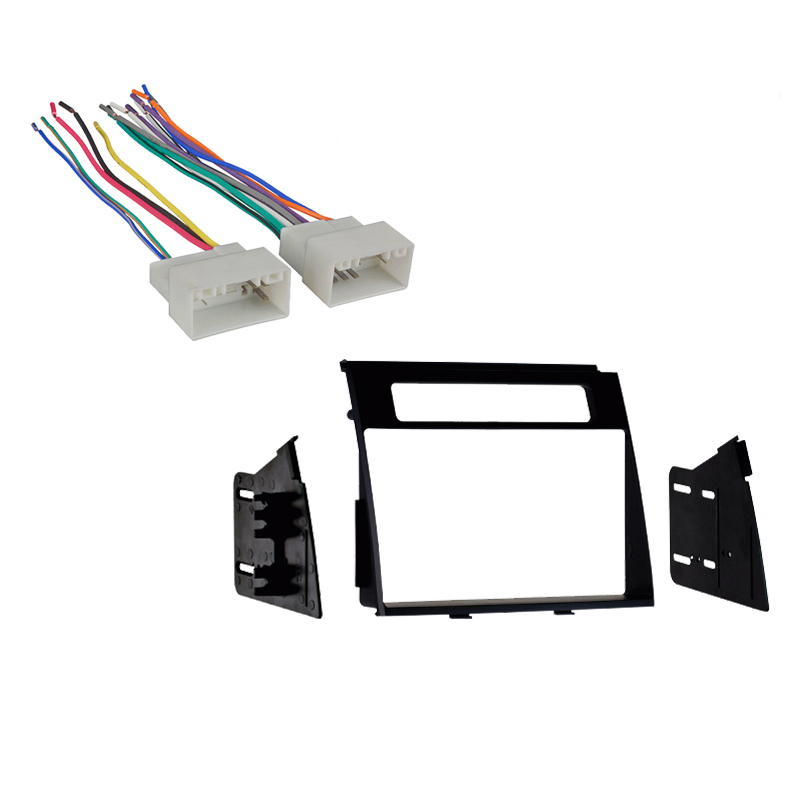 Vehicle Specific Radio Kits SC2 RadioKit893 detailed image 1 fits kia soul 2012 2013 double din aftermarket harness radio Soul License Plate Frame at suagrazia.org