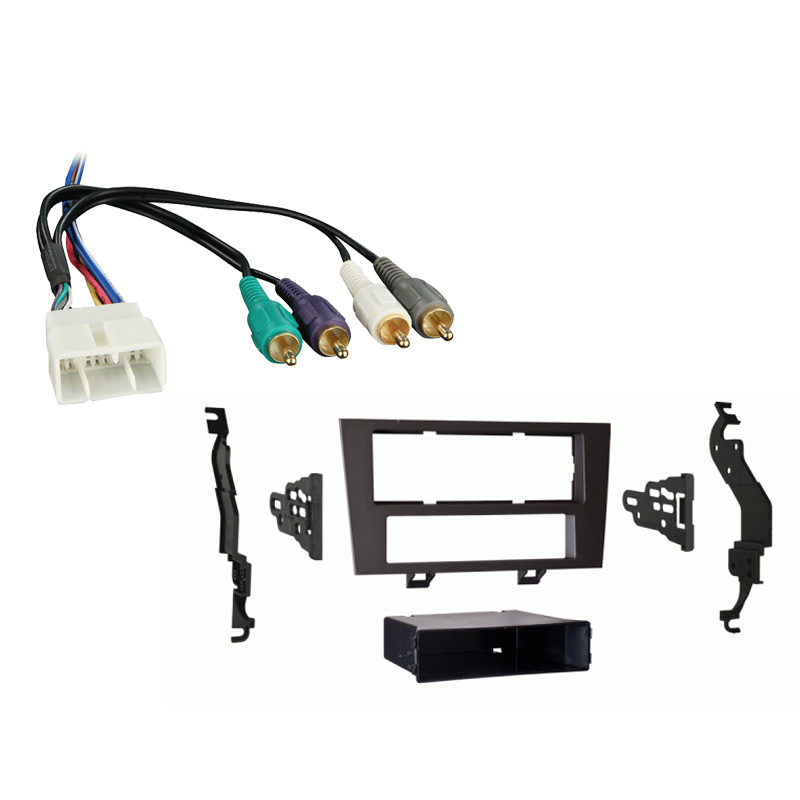 Lexus ES 300 1992-1996 Single DIN Stereo Harness Radio Install Dash Kit Package