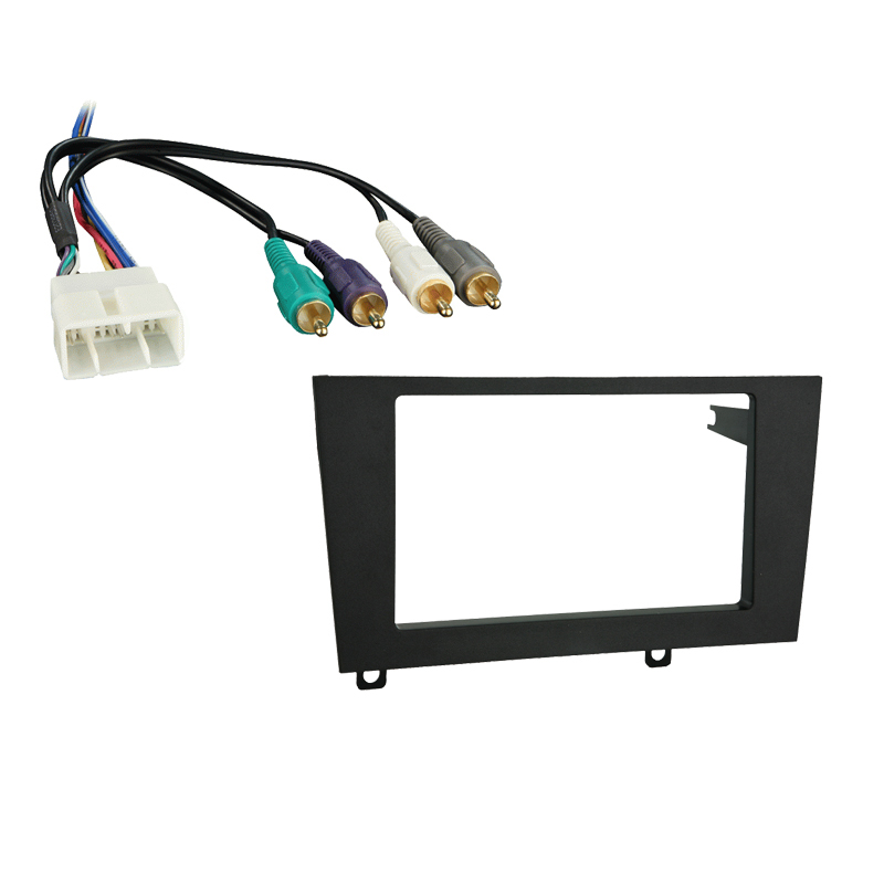 Lexus ES 300 1992-1996 Double DIN Stereo Harness Radio Install Dash Kit Package