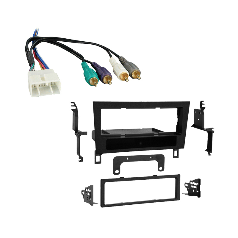 Lexus LS400 1993-1994 Single DIN Stereo Harness Radio Install Dash Kit Package