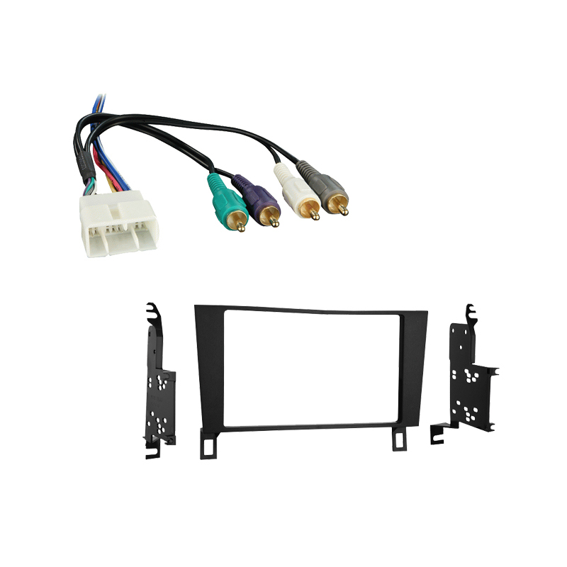 Lexus LS400 1993-1994 Double DIN Stereo Harness Radio Install Dash Kit Package