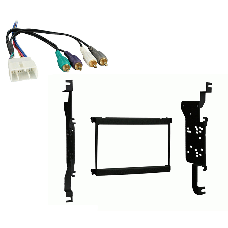 Lexus SC 300 400 1992 1993 1994 1995 1996 1997 1998 1999 2000 Double DIN Stereo Harness Radio Install Dash Kit Package