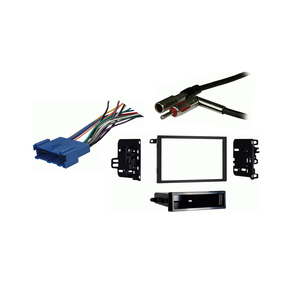 Buick Skylark 1996 1997 1998 Double DIN Stereo Harness Radio Install Dash Kit Package