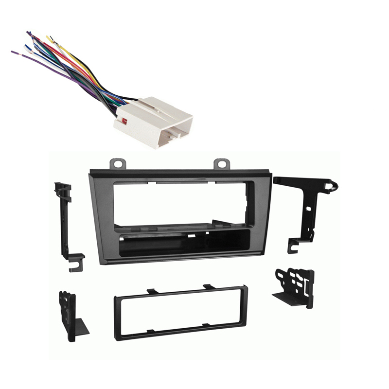 Lincoln LS Series 2004 2005 2006 Single DIN Stereo Harness Radio Install Dash Kit Package