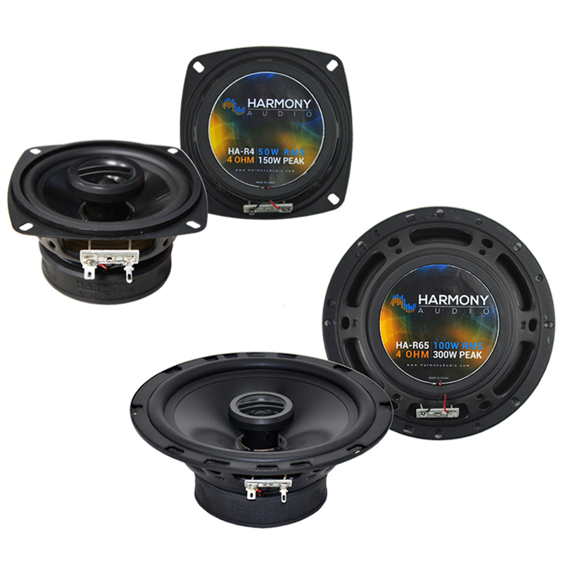 Honda CRX 1984-1985 Factory Speaker Replacement Harmony R4 R65 Package New
