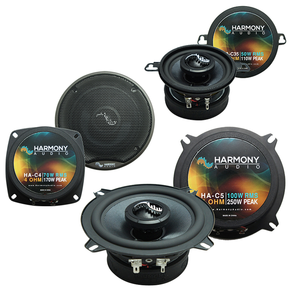 Fits BMW 3 Series 1999-2001 Factory Speaker Replacement Harmony Premium Speakers New Kit