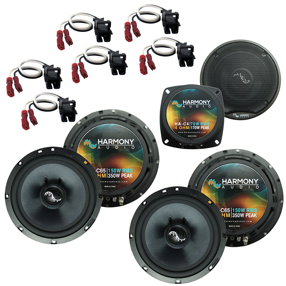 Fits Hummer H2 2003-2007 Factory Premium Speaker Replacement Harmony (2) C65 C4 Package