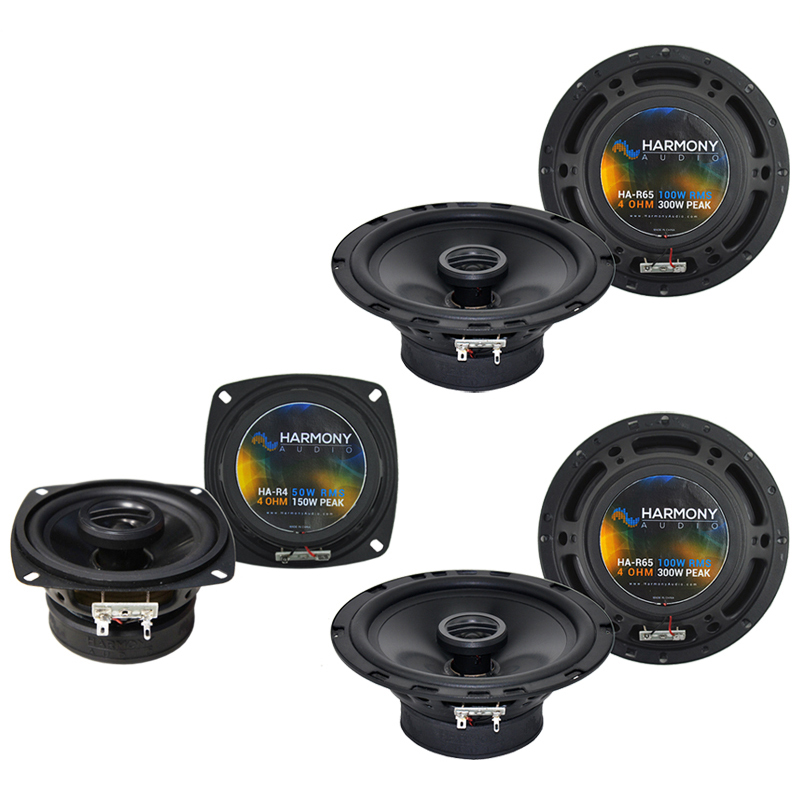 Hummer H2 2008-2009 Factory Speaker Replacement Harmony (2) R65 R4 Package