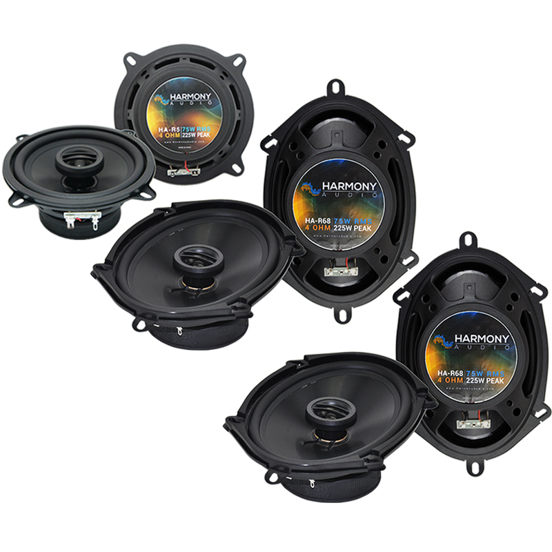 BMW 323 1997-2001 Factory Speaker Replacement Harmony (2) R68 R5 Package New