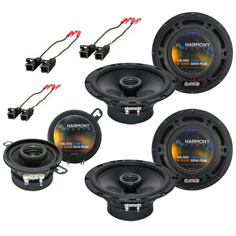 Isuzu Ascender 2003-2008 OEM Speaker Replacement Harmony (2) R65 R35 Package