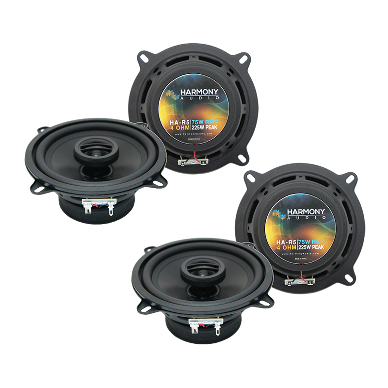 Jeep Cherokee 1984-1987 Factory Speaker Replacement Harmony (2) R5 Package New