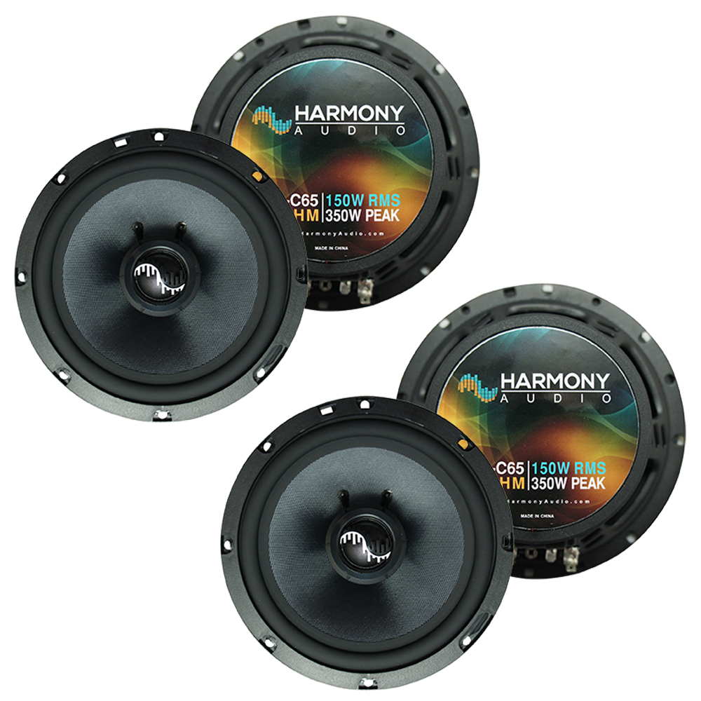 Fits Jeep Wrangler 2007-2017 Factory Premium Speaker Replacement Harmony (2) C65 Package