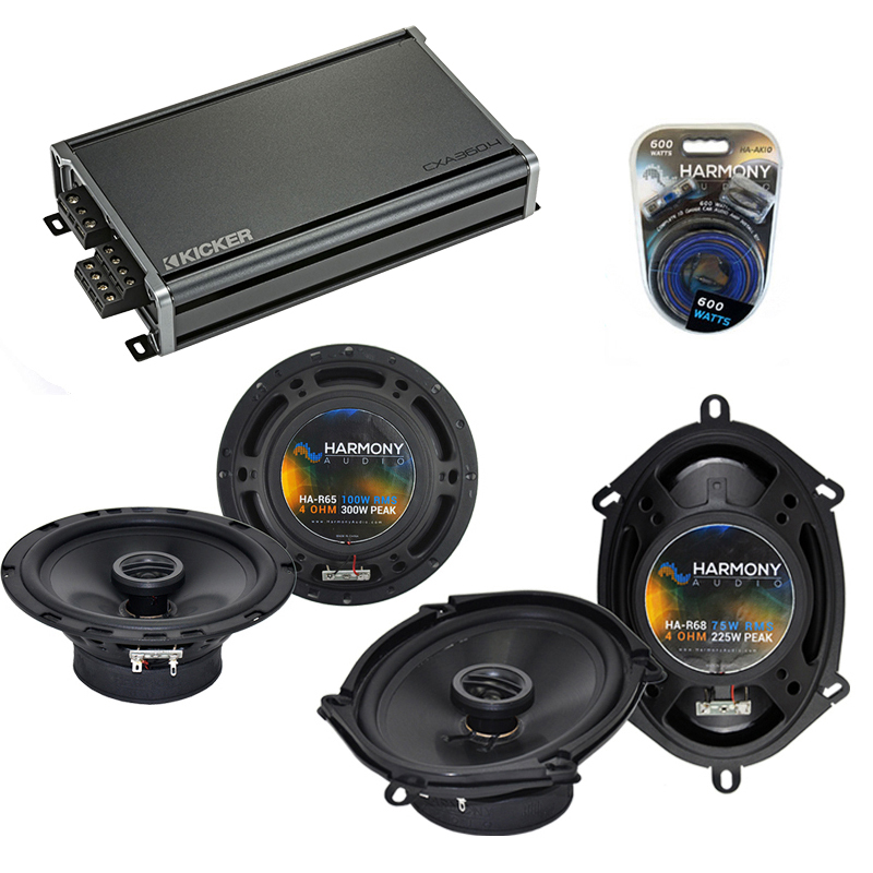 Compatible with BMW 7 Series 1999-2006 Factory Speaker Replacement Harmony R5 R65 & CXA360.4 Amp