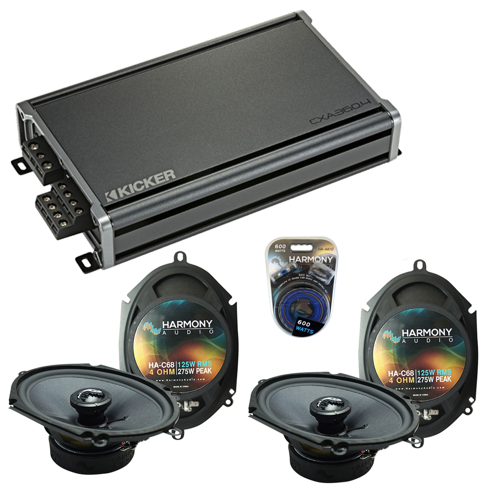 Compatible with Lincoln LS 2000-2006 Factory Speakers Replacement Harmony (2) C68 & CXA3004
