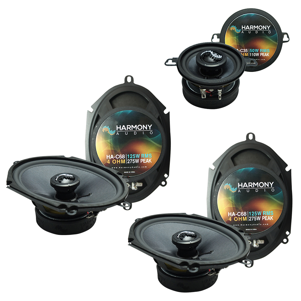 Fits Lincoln Mark VIII 1996-1998 Factory Premium Speaker Replacement Harmony Upgrade Kit