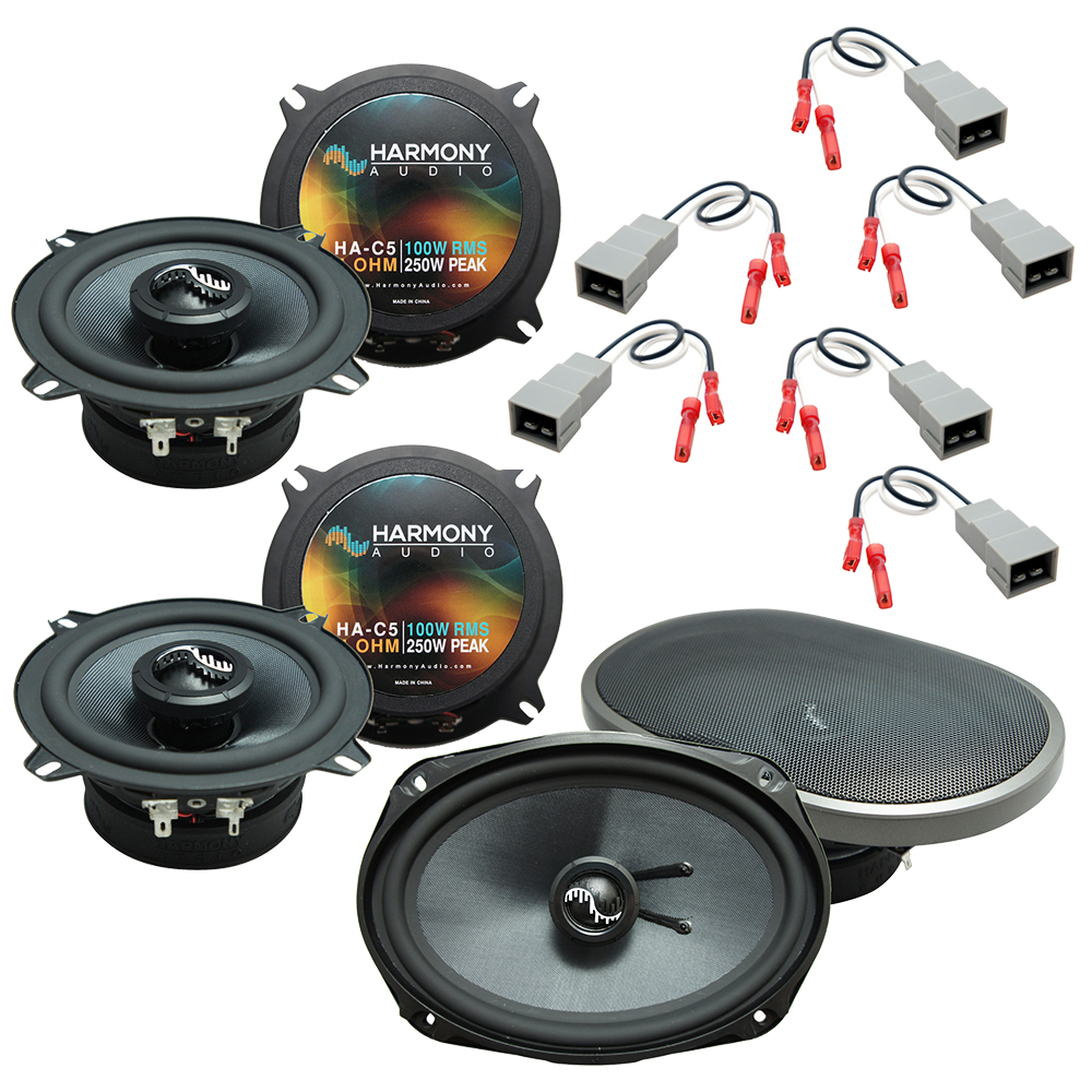 Fits Lincoln Town Car 1985-1989 Factory Premium Speaker Replacement Harmony Upgrade Kit