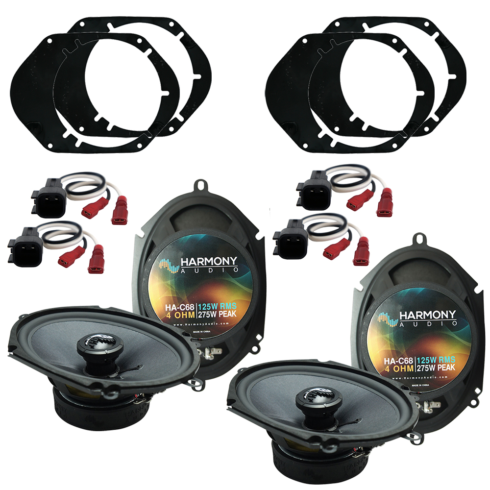 Fits Lincoln Zephyr 2006-2006 Factory Premium Speaker Replacement Harmony (2) C68 New